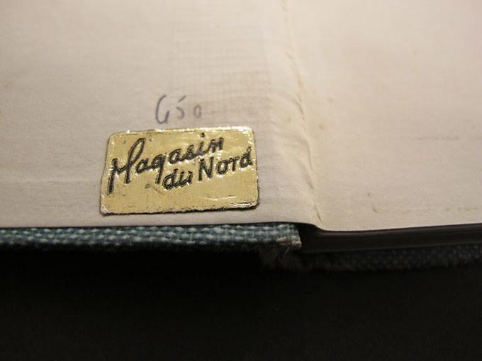 Embossed sticker vintage Magasin du Nord