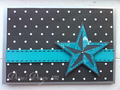 Cricut Indie Art Star Card
