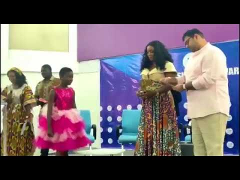 DJ Switch Ghana wins Entertainment & Community Development Award at the Child Summit Awards 2019