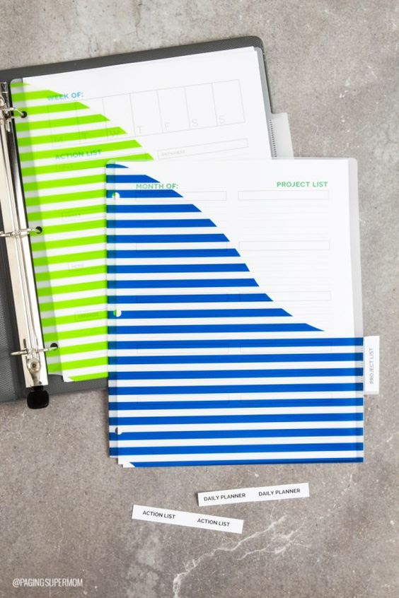 Organize your life with this daily planner designed for moms from ...