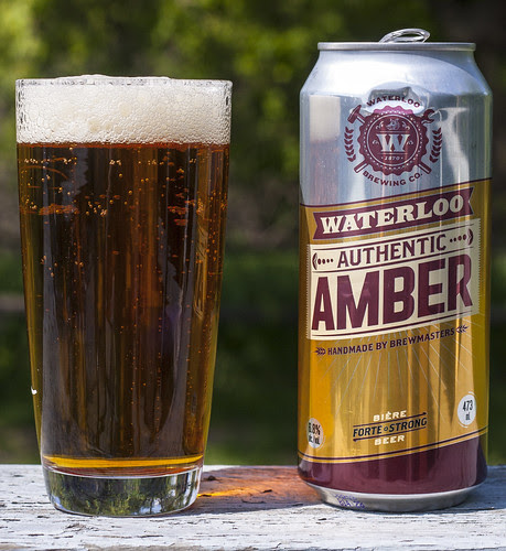 Brick Brewery's Waterloo Authentic Amber Ale by Cody La Bière