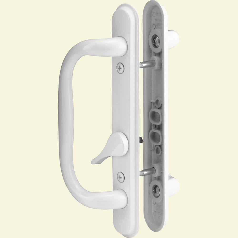 Prime-Line Sliding Door Handle Set, White-C 1284 - The ...