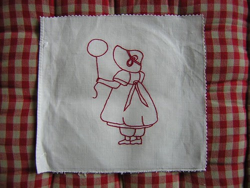 Girl with Balloon - Jaynes Quilt