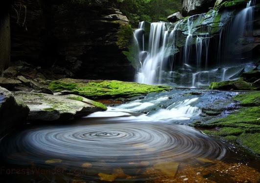 Elakala Waterfalls Blue Whirlpool