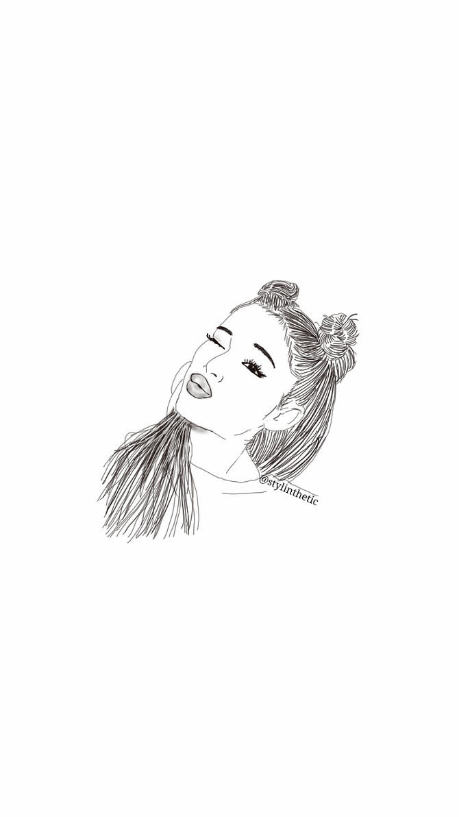 Ariana Grande Outline Pictures to Pin on Pinterest  ThePinsta