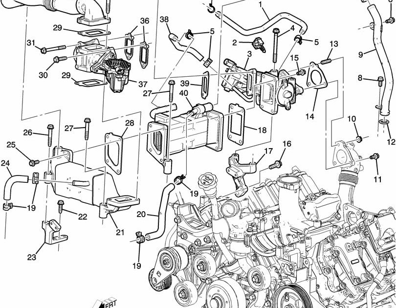 Chevrolet 2500 Diesel Engine Diagram