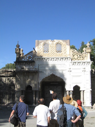 Gatehouse to Chital Fort and former Mehtar's Palace - badly damaged by the 2005 earthquake