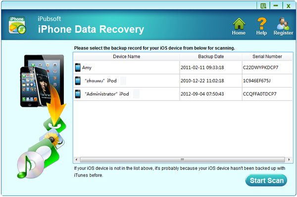 24 hours or less Giveaway iPubsoft iPhone Data Recovery Recover Lost or Deleted iPhone Data
