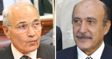 اللواء عمر سليمان والفريق أحمد شفيق