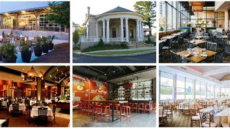 13 Awesome Atlanta Restaurants for Your Wedding Day