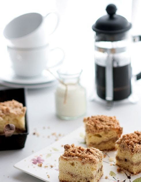 Chai Coffee Cake And A Giveaway