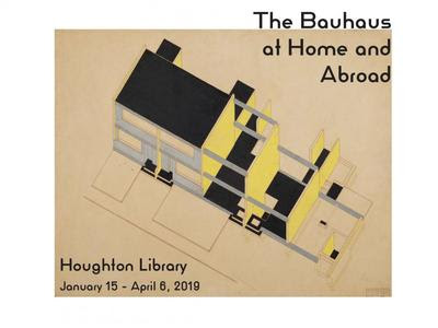 The Bauhaus At Home And Abroad Selections From The Papers Of Walter