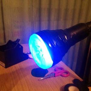 Paso 12 - lámpara UV