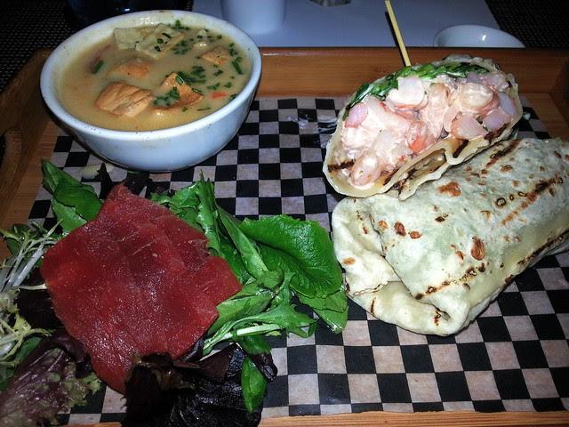 Lunch Box Shrimp Wrap 2 b