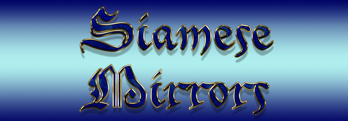 Siamese Mirrors - A blog for Les Visible's readers to contribute their own posts and passions...