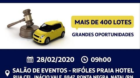 MAIS DE 400 LOTES: PRF realiza nesta sexta o primeiro leilão de 2020 de veículos retidos no RN; lances já podem ser ofertados