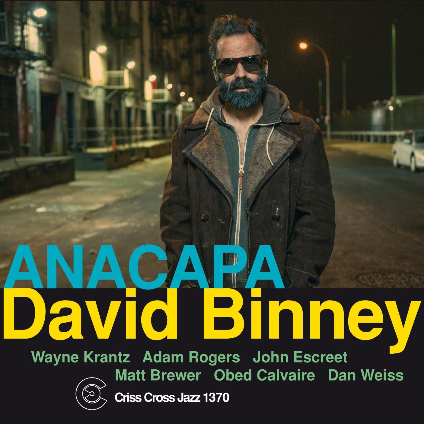 David Binney - ANACAPA  cover