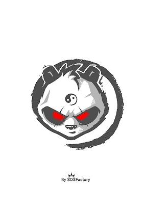 Grafiti Keren Gambar Panda Keren 3d