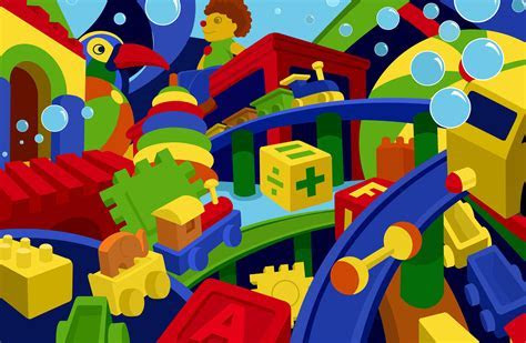 Kids Toys Widescreen Wallpaper 48998 5175x3375 px