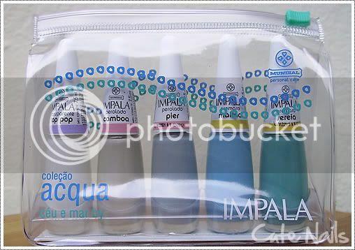 Cute Nails - Kit Coleção Acqua - Impala