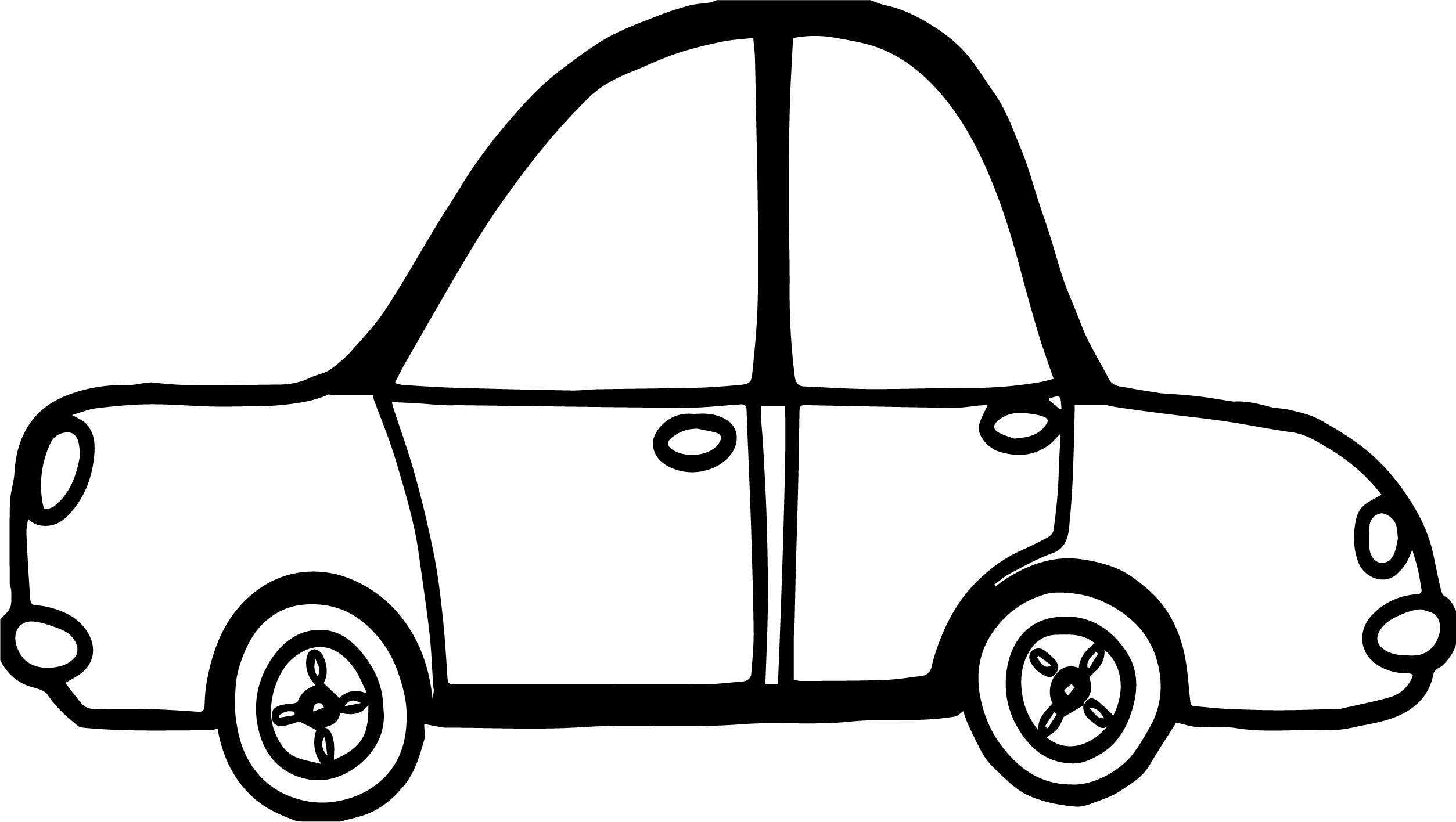 Toy Car Coloring Page | Wecoloringpage.com