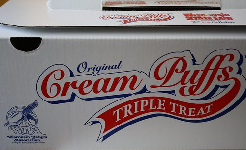 Cream puff box