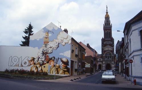 Somme mural, Albert