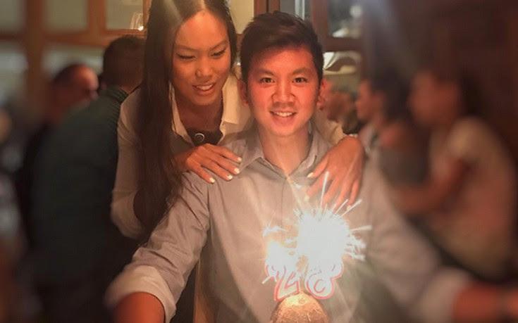 Τα γενέθλια του Ορέστη Τσανγκ και η τούρτα σε σχήμα καρύδας