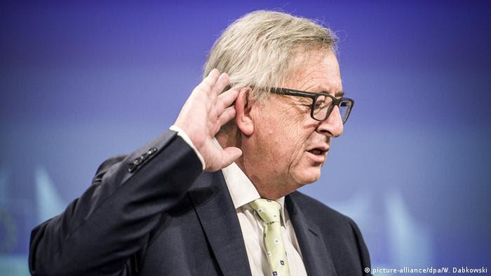 Brüssel PK Brexit Jean-Claude Juncker