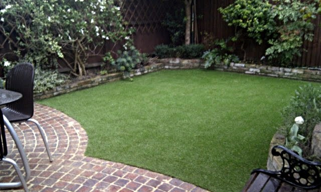 Landscape design small backyard landscaping no grass for Sd garden designs