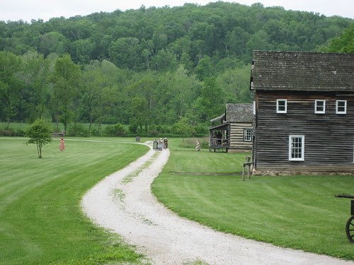 living history at boonesfield village