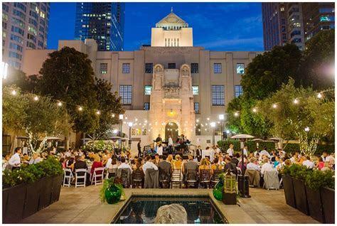 Los Angeles Public Library Wedding   Cafe Pinot   Alicia