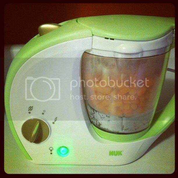 Nuk Freshfoods Cook-n-Blend baby Food Maker