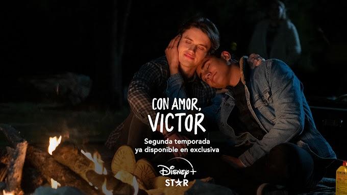 Ya disponible la segunda temporada de 'Con amor, Víctor' en Disney+