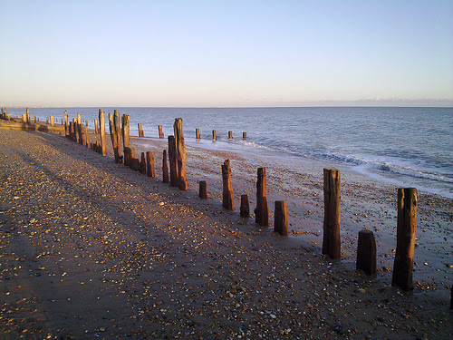 Pett Level - Old Sea Defences