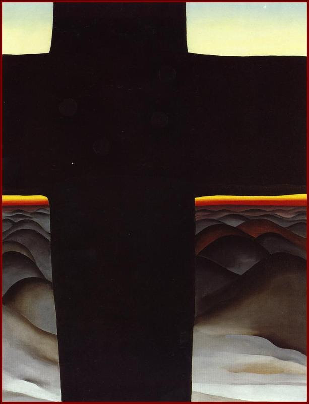 Black Cross, NM, by O'Keeffe