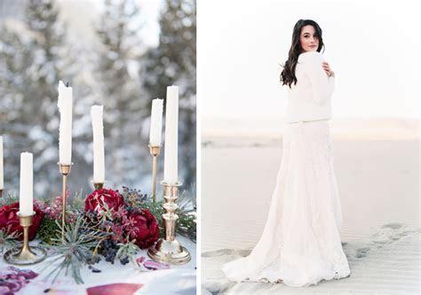 Des conseils pour organiser un mariage en hiver