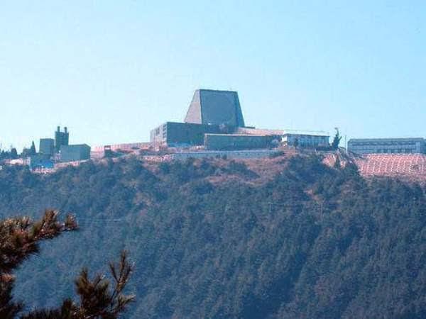 """Instale un radar sofisticado en Leshan Montaña, Taiwán, puede """"ver"""" profundamente en China."""