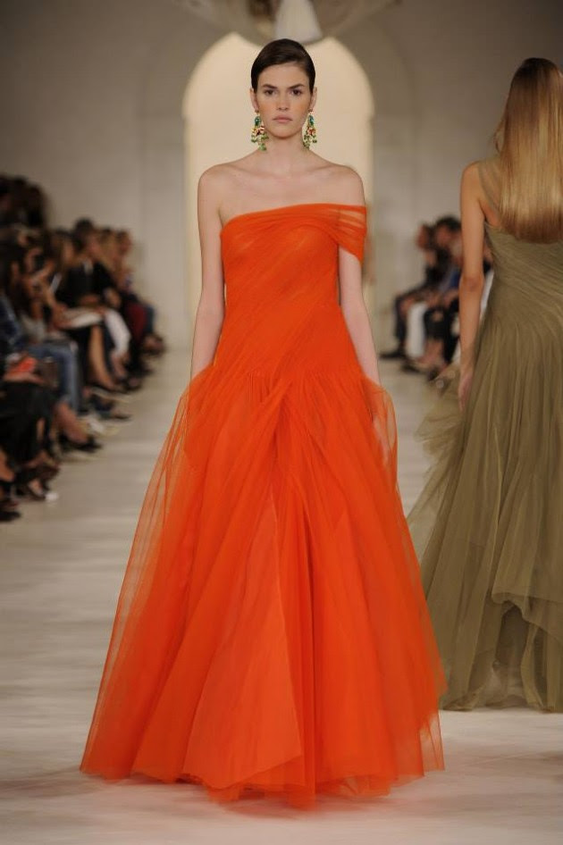 Most Fashion Show Ralph Lauren Spring Summer Dress For