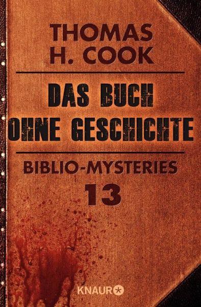 Das Buch ohne Geschichte (eBook, ePUB) - Cook, Thomas H.