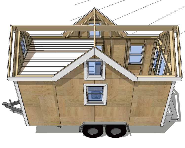 Blueprints For Small Mobile Homes And Travel Trailers Tiny House Blog