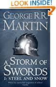 A Storm of Swords by George R. R. Martin book cover