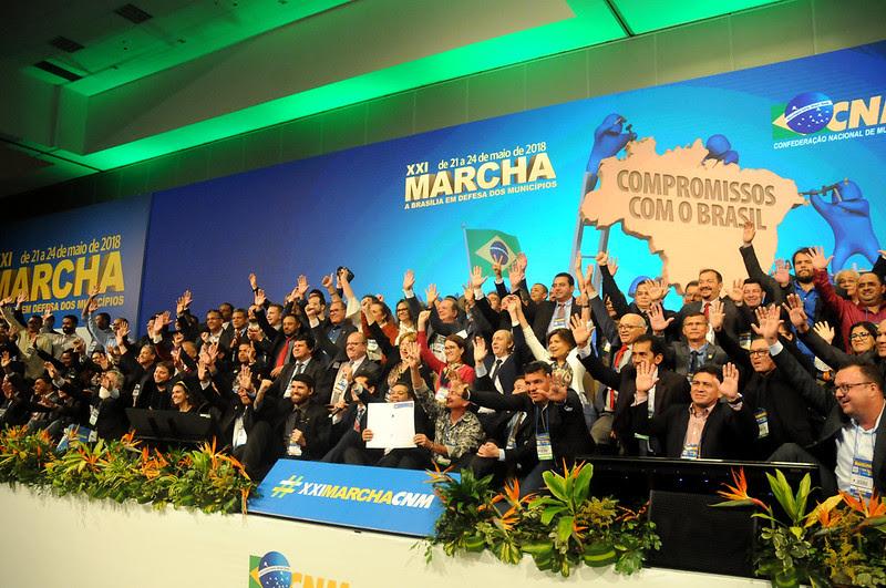 Resultado de imagem para marcha dos prefeito em df