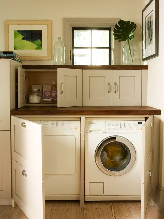 Small Space Laundry Room Ideas   Page 4 of 4   Four Generations ...