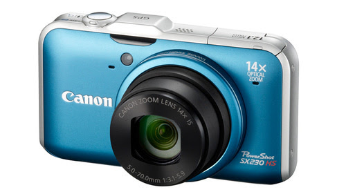 Canon's New Elphs: The Touchscreen'd, Night Shootin' 500 HS and Zoomy, GPS-Equipped 230 HS