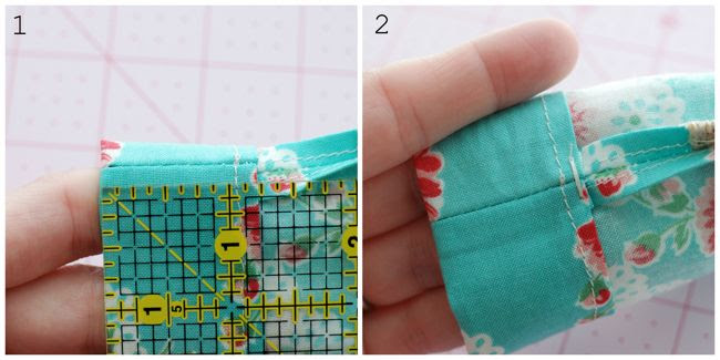 Retro Mama drawstring pouch tutorial