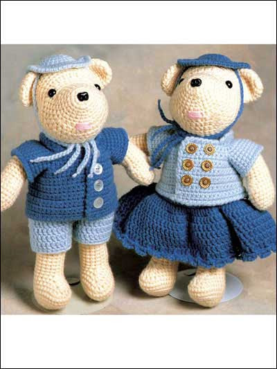 Claude and Claudia Bear