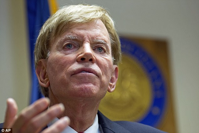 Former KKK grand wizard David Duke today praised Donald Trump's victory claiming many of his organizations followers were responsible for electing him to the White House