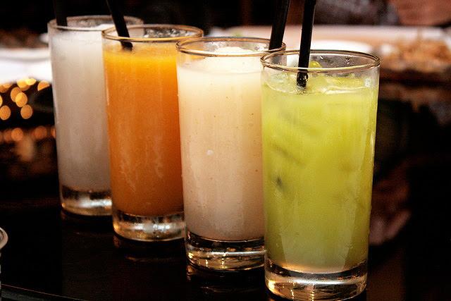 Fruit Blends (Longan, Mango, Lychee) and Lime Juice: $3.80