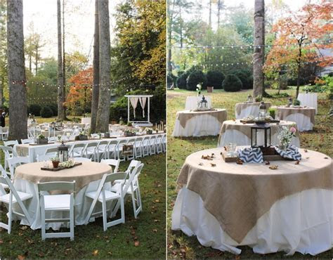 Backyard Wedding Ideas to Save the Budget